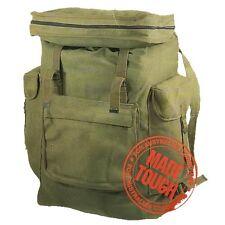 Outback Australia Canvas Rucksack Old School Retro Backpack Bag