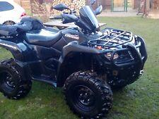 Quad ATV Scheibe Windschild SPEEDSTER schwarz mit Halterung TGB Kymco CF Adly Su