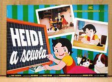 HEIDI A SCUOLA fotobusta poster Animazione Cartoon Isao Takahata School CD5