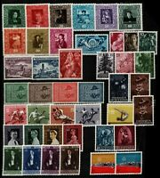 Liechtenstein 1949/59 good range of issues to include '49 paintings to 12 stamps