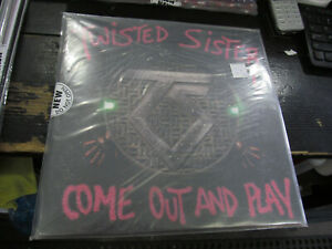 TWISTED SISTER Come Out And Play LP sealed VINYL Record HEAVY METAL NEW