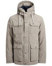 Jack & Jones Originals Jacket Mens Polyester Hooded Winter Coat Jorsteve