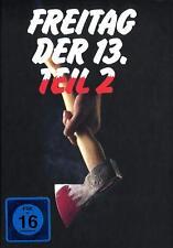 FREITAG DER 13. - TEIL 2 COVER B BLU-RAY IM MEDIABOOK Neu