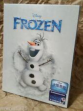 Walt Disney FROZEN Blu-Ray 3D+2D BLUFANS China Exclusive OLAF STEELBOOK OOP #177