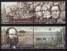 AUSTRALIA 2012 INLAND EXPLORERS SET 4 IN 2 PAIRS FINE USED