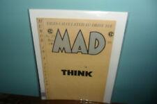 Mad Magazine-Issue #23(1955) Kurtzman,Wood Complete Issue Last Comic Book Sized