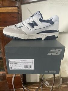 New Balance 550 White Navy Blue Size 12 *In Hand*