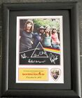 Pink Floyd Preprinted Autograph & Guitar Pick Display Mounted & Framed