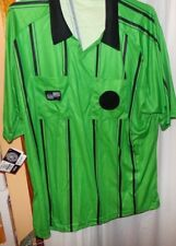 OFFICIAL SPORTS SOCCER REFEREE JERSEY 2XL  SH0RT SLEEVE GREEN  NWT