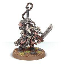 Games Workshop Warhammer Beastmen Khazrak the One Eye BNIB New Metal Lord OOP GW