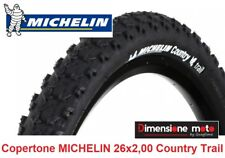 "1 Copertone MICHELIN 26x2,00 Country Trail Tass. per Bici 26"" MTB Mountain Bike"