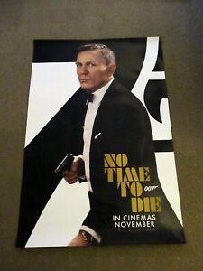 No Time To Die ORIGINAL D/S one sheet poster Daniel Craig James Bond 007 Nov