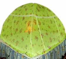 Foldable Polyester Double Bed Mosquito Net (Green) free shipping UK
