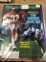 1985 Roger Craig San Francisco 49ers SB Signed Autographed Sports Illustrated