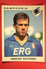 Panini Calciatori 1991/92 N. 303 KATANEC SAMPDORIA OTTIMA EDICOLA!!