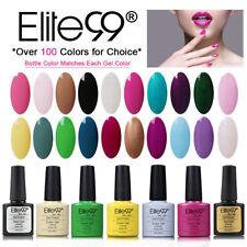 Elite99 Soak Off Colour Gel Nail Polish UV LED Top Base Coat Varnish Manicure