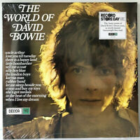 """RSD 2019 David Bowie The World Of 12"""" LP Blue Vinyl Record Store Day Decca 180g"""