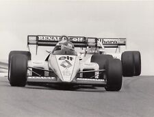 PATRICK TAMBAY RENAULT RE50 FRENCH GP DIJON 1984 F1 ORIGINAL PERIOD PHOTOGRAPH