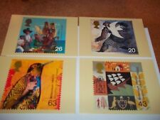 Settlers' Tale 6 April 1999 PHQ 206 set Royal Mail Stamp Card Series MINT