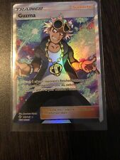 GUZMA Trainer FULL ART Sun & Moon Burning Shadows 143/147