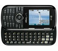 LG Cosmos VN250 Verizon Black Basic Cellular Phone Bluetooth