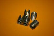 5 Stück Gewindeeinsätze M14 selbstschneidend Stahl gehärtet chromatisiert