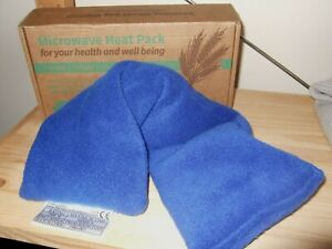 UNSCENTED BLUE MICROWAVE WHEAT BAG BRAND NEW