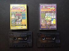 Ordenador ZX Spectrum-su Sinclair magníficos 7 cintas 3 & 8-Inc. Knightmare, Rampage
