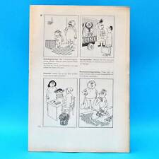 Original DDR-Comic-Druckbogen   Erich Schmitt   Das dicke Schmitt-Buch 15
