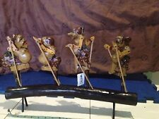 JAVANESE WOOD SHADOW PUPPETS MADE IN INDONESIA