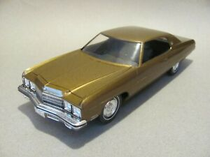 Built MPC 1973 Chevrolet Caprice Hdtp Model Kit -Gold Metallic, Excellent Cond.!