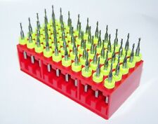 50 Piece Micro Machining Kit Carbide 116 End Mills 0625 Diameter