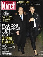 PARIS MATCH n°3571 26/10/2017  Hollande & Gayet_Flament_Maires de France_Grégory