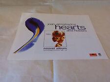 JOAN ARMATRADING - Petite publicité de magazine / Advert !!! HEARTS AND FLOWERS