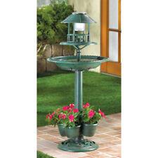 "New listing Verdigris Garden Centerpiece - 36 1/2"" High - Plastic - Green"