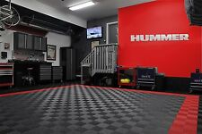 Hummer & H2 Combo Garage Sign Brushed Silver
