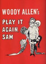 "Woody Allen  ""Play It Again, Sam"" Broadway  Souvenir Program 1969  Diane Keaton"