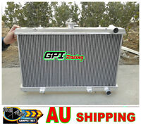 52mm  aluminum radiator FOR NISSAN SILVIA S13 180sx CA18DET Turbo
