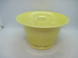 Moorcroft yellow lustre footed bowl