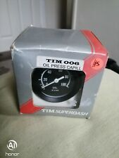 Classic Mini Tim Oil Pressure Gauge 0 - 100LB TIM006