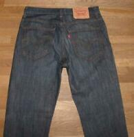 """Levi `S 03 753 """" D'Homme Jeans / Levis Bleu Jeans En Noir-Bleu En W31 """" / L34 """""""