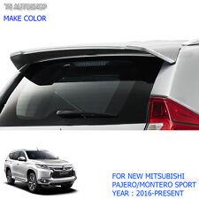 Rear Back Tailgate Roof Spoiler For Mitsubishi Pajero QE Montero Sport 2016 2017