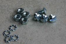 SIMSON SR2 SR2E Schrauben für Spritzlappen Schmutzfänger Spritzschutz vorn 005
