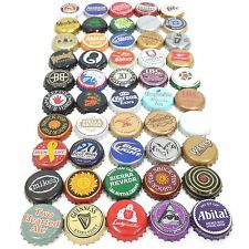 Beer Bottle Cap Lot Of 50 Different Mixed Bundle For Collecting Or Crafts (4)