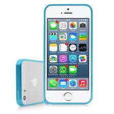 Apple iPhone se aluminio funda protectora dura case bolso bumper aluminio-turquesa