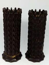 Antique Wooden Treen, Carved, Spill Vase / Holder Black Forest? For Restoration