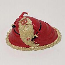 1993 DISNEY'S TINY KINGDOM SANTA FIGURINE NIGHTMARE BEFORE CHRISTMAS
