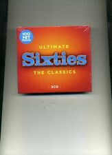 ULTIMATE SIXTIES - 60S MONKEES ANIMALS HOLLIES SEARCHERS DRIFTERS - 5 CDS - NEW!