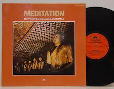 Tony Scott & Jan Akkerman     Meditation        Polydor    NM # 38