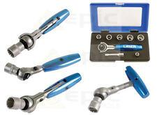 Laser 8 pièce AllDrive TORX / DENTS / WHITWORTH / BA 0.6cm mini cliquet